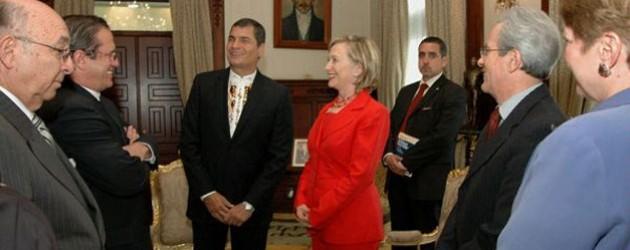 Týden: Honduras stále mimo OAS, Clintonová v Ekvádoru