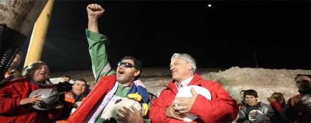 Týden: Chilští horníci zachráněni, Nobelova cena pro Jižní Ameriku