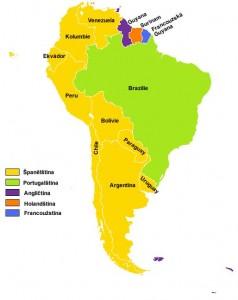 Jazyky v Jižní Americe