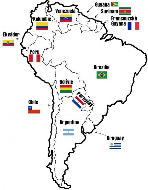 z Jižní Ameriky