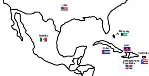 Severní Amerika: Mapa a Vlaky