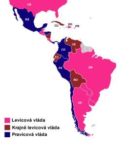 Levice a pravice v Latinské Americe na začátku roku 2010