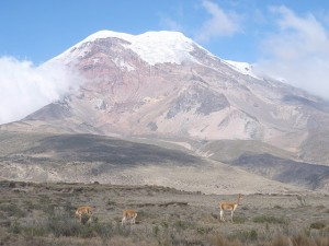 Nejvyšší hora Ekvádoru Chimborazo