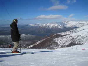 Argentinské Bariloche je dosud nejlepší lyžařské středisko v Jižní Americe.